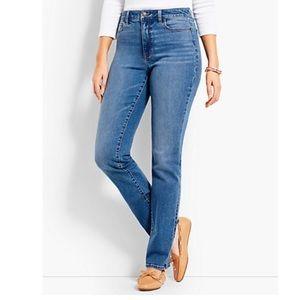 NWT Talbots | Straight Heritage Blue Denim Jeans 2